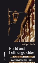 Nacht und Hoffnungslichter - Wiener Literaturen Band 7