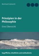 Reinhard Gobrecht: Prinzipien in der Philosophie