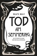 Beate Maly: Tod am Semmering ★★★★