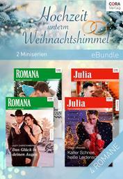 Hochzeit unterm Weihnachtshimmel (2 Miniserien)