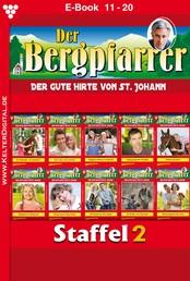 Der Bergpfarrer Staffel 2 – Heimatroman - E-Book 11-20