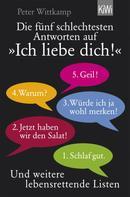 """Peter Wittkamp: Die fünf schlechtesten Antworten auf """"Ich liebe dich!"""" ★★★"""