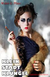 Kleinstadtklüngel: Kriminalroman