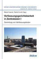 Manja Hussner: Verfassungsgerichtsbarkeit in Zentralasien Ix