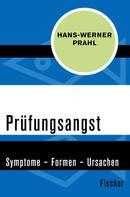 Hans-Werner Prahl: Prüfungsangst