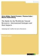 Silvio Wilde: The Battle for the Worldwide Natural Resources - International Strategies and their Impacts