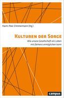 Harm-Peer Zimmermann: Kulturen der Sorge