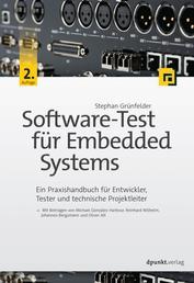 Software-Test für Embedded Systems - Ein Praxishandbuch für Entwickler, Tester und technische Projektleiter
