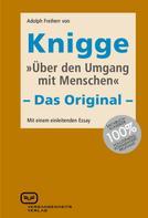 Adolph Knigge: Über den Umgang mit Menschen ★★★
