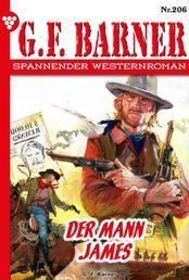 G.F. Barner 206 – Western - Der Mann James