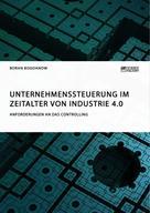 Boran Bogdanow: Unternehmenssteuerung im Zeitalter von Industrie 4.0. Anforderungen an das Controlling