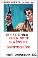 Horst Bieber: Krimi Doppelband #32