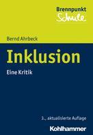 Bernd Ahrbeck: Inklusion
