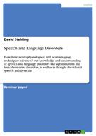 David Stehling: Speech and Language Disorders
