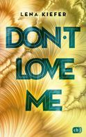 Lena Kiefer: Don't LOVE me ★★★★