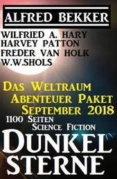 Weltraum Abenteuer Paket September 2018: Dunkelsterne