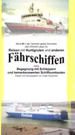 Jörn Hinrich Laue: Reisen mit Hurtigruten und anderen Fährschiffen - Begegnung mit Schleppern und bemerkenswerten Schiffsumbauten