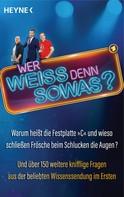 Heyne Verlag: Wer weiß denn sowas? ★★★★