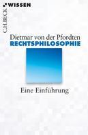 Dietmar von der Pfordten: Rechtsphilosophie