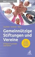 Michael Sommer: Gemeinnützige Vereine und Stiftungen