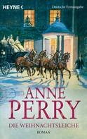 Anne Perry: Die Weihnachtsleiche ★★★★