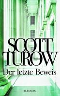 Scott Turow: Der letzte Beweis ★★★★