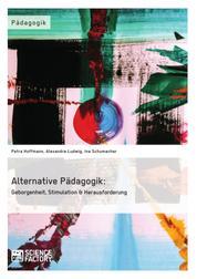 Alternative Pädagogik: Geborgenheit, Stimulation & Herausforderung