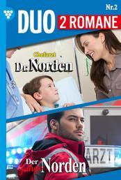 Dr. Norden-Duo 2 – Arztroman - Chefarzt Dr. Norden 1112 + Der junge Norden 2