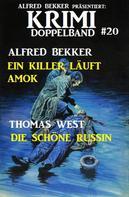 Alfred Bekker: Krimi Doppelband #20
