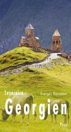 Lesereise Georgien - Zum Tschatscha in den zweiten Himmel