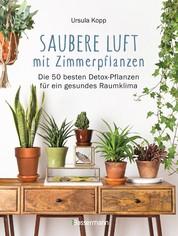 """Saubere Luft mit Zimmerpflanzen - Die 50 besten Detox-Pflanzen für ein gesundes Raumklima. Basiert auf der NASA """"Clean Air Study"""""""