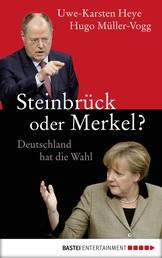 Steinbrück oder Merkel? - Deutschland hat die Wahl