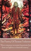 Thomas Traherne: The Poetry Of Thomas Traherne
