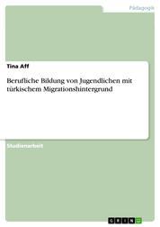 Berufliche Bildung von Jugendlichen mit türkischem Migrationshintergrund