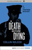 Collin Wilcox: A Death Before Dying ★★★★