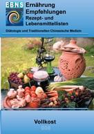 Josef Miligui: Ernährung - Vollkost