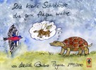 Michèle Combaz Thyssen: Die kleine Schildkröte, die gern fliegen wollte
