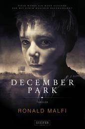 DECEMBER PARK - Mystery-Thriller und Abenteuerroman, Coming of Age