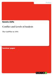 Conflict and Levels of Analysis - The Gulf War in 1991