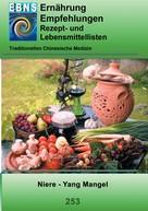 Josef Miligui: Ernährung - TCM - Niere - Yang Mangel