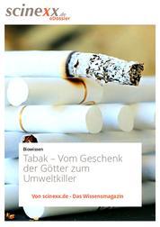 Tabak - Vom Geschenk der Götter zum Umweltkiller