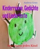 Andrea Grau: Kinderreime, Gedichte und Liedertexte ★★★★