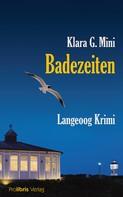 Klara G. Mini: Badezeiten ★★★★
