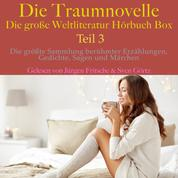 Die Traumnovelle – die große Weltliteratur Hörbuch Box, Teil 3 - Die größte Sammlung berühmter Erzählungen, Gedichte, Sagen und Märchen