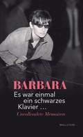 Barbara: Es war einmal ein schwarzes Klavier … ★★★