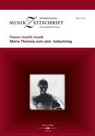 : frauen macht musik. Maria Theresia zum 300. Geburtstag