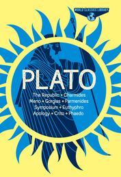 World Classics Library: Plato - The Republic, Charmides, Meno, Gorgias, Parmenides, Symposium, Euthyphro, Apology, Crito, Phaedo