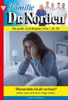 Patricia Vandenberg: Familie Dr. Norden 721 – Arztroman ★★★