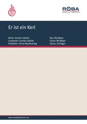 Er ist ein Kerl - as performed by Gunter Gabriel, Single Songbook
