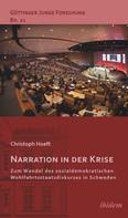 Christoph Hoeft: Narration in der Krise: Zum Wandel des sozialdemokratischen Wohlfahrtsstaatsdiskurses in Schweden